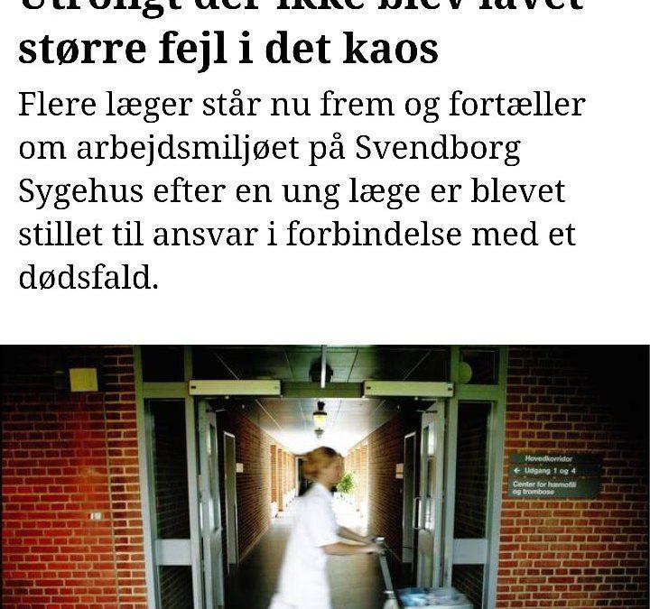 Voldsomme tilstande på sygehusene i Region Syddanmark