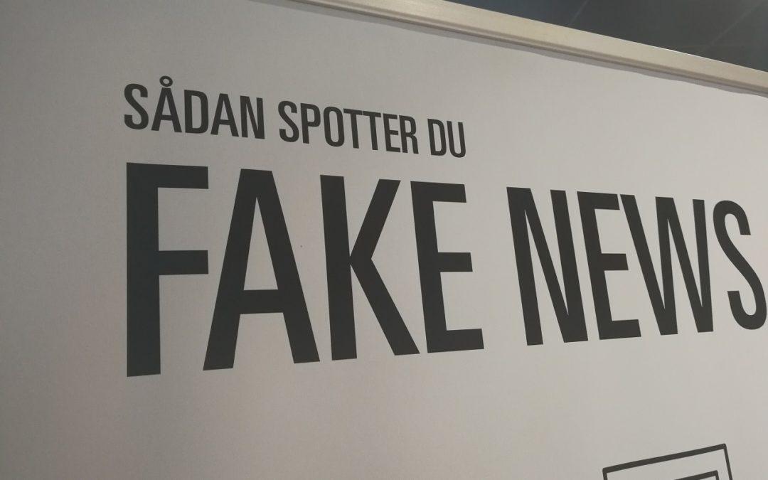Fake News – Bibliotekerne advare mod løgn og bedrag i de landsdækkende partier og i de officielle medier