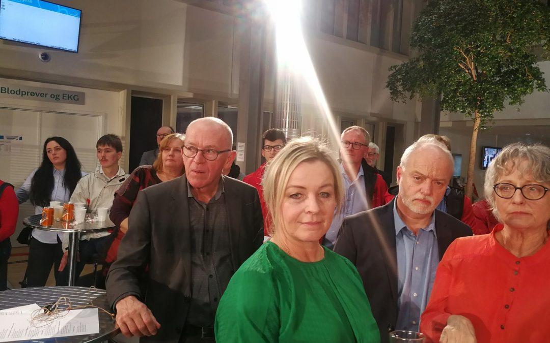 Se kandidat Karsten Holt Larsen, Danmark Først i valgdebat til Regionsrådet i Region Syddanmark 2017